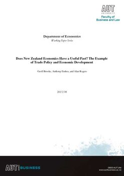 Does New Zealand Economics Have a Useful Past? The Example