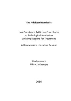 The Addicted Narcissist How Substance Addiction Contributes to