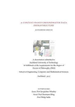 A Context-based Groundwater Data Infrastructure