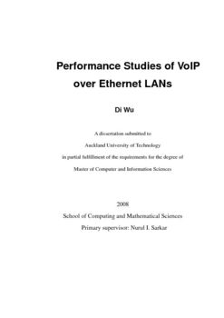 Performance studies of VoIP over Ethernet LANs
