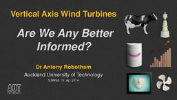 Vertical axis wind turbines - are we any better informed?